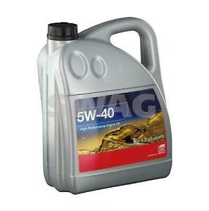 SWAG 5W40 Hgh Performance Engine Oil 1L 15 93 2936 fits Mercedes-Benz 190 190...