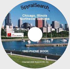 IL - Chicago's Northwest Suburbs 1983 Phone Book