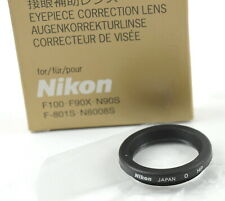 Nikon Eyepiece Correction 0 For F3HP, F100, F90X, N90S, F-801S, N8008S  -  NEW