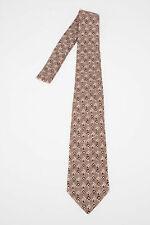 DOLCE & GABBANA men Ties and Bow Ties Dusty Pink Patterned Tie Necktie Silk Pink