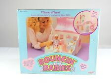 Nursery Playset doll house BOUNCIN' BABIES 1988 Galoob baby doll MIB bouncing