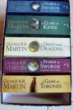 A Song of Ice and Fire Bookset  By George R. R. Martin