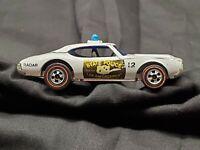 Vintage Hot Wheels Redline State Police Law Enforcement - Enamel White 1969