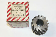 Union Plain Mill Milling Cutter 25 X 3 X 1 Bore Hss Machinist Lathe Tool Nos