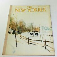 The New Yorker: January 6 1962 Full Magazine/Theme Cover James Stevenson