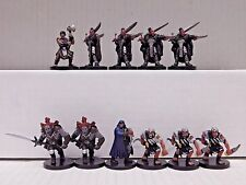 Dungeons and Dragons Miniatures HALF-ORCS LOT - 11 D&D / Pathfinder Minis