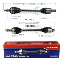 For Acura MDX Honda Pilot AWD Pair of Front CV Joint Axle Shafts SurTrack Set