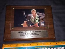 Xena Gabrielle Renée O'connor Autographed Plaque 10Th Anniversary Creation