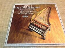 BACH: THE HARPSICHORD CONCERTOS 4-LPs Trevor Pinnock English Concert NM