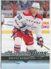 2014/15 EVGENY KUZNETSOV UPPER DECK YOUNG GUNS ROOKIE CARD #248
