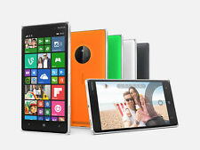 Original Unlocked Nokia Lumia 830 4G LTE Wifi16GB 10MP Bluetooth GPS Radio 5""