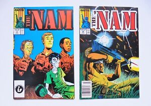 2 THE 'NAM #9,28 LOT MARVEL (1986 SERIES) VERY HIGH GRADE HUGE COMIC AUCTION NOW