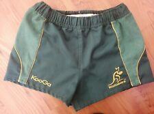 More details for vintage 2000 wallabies australia rugby union kooga shorts s 32 green qantas