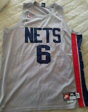 New listing Vintage Nike New Jersey Nets Kenyon Martin Stitched Jersey NJ away gray NBA XL