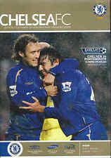 Football Programme - Chelsea v Portsmouth - Premiership - 25/02/06