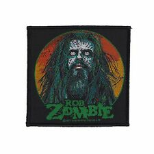 ROB ZOMBIE - FACE PATCH - Official Sew On Patch - NEW - METAL