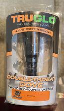 Truglo Dbl-Threat Adjustable Dove Choke Benelli Crio 12Ga New Sealed!