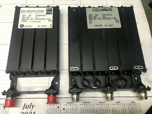 UHF Duplexer with Preselector