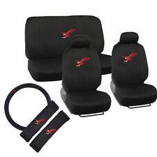 11 Piece Eagle Supreme Set Print Auto Seat Cover Airbag Compatible