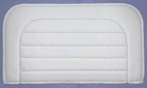 Pedal Car Seat Pad In White