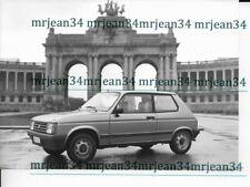 Photo d'époque TALBOT Samba  format 125x175 mm  dossier presse Talbot