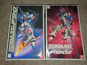 🌟(2) 1/100 Gundam F90 F90IIL  Mobile Suit Gundam F/S Anime Model Kits