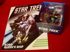 EAGLEMOSS STAR TREK Starships - BORG QUEEN'S SHIP  W/ MAG ISSUE 109