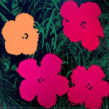 Andy WARHOL Flowers 1964 Offset Lithograph Print 26 x 26
