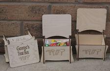 PERSONALISED CUSTOM MADE BIRCHWOOD LASER ENGRAVED LITTLE TREAT BOX