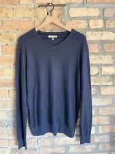 Men's Calvin Klein Jeans Navy Blue Sweater Large
