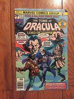 The Tomb of Dracula Comic Book #53, Marvel Comics 1977 NEAR MINT