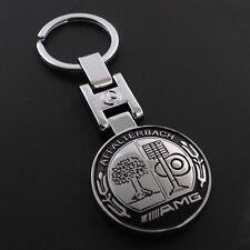 New Metal Mercedes Benz AMG Keychain Creative Accessories Auto Parts Car Keyring