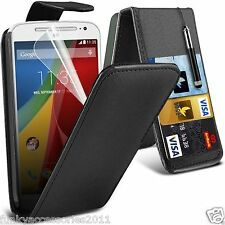 Top Flip Quality Leather Phone Case Cover✔for Motorola