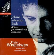Suites For Unaccompanied Cello - J.S. Bach (1998, CD NEUF) Wispelwey*Pieter (VC)