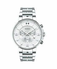 Movado SE Pilot 0606760 Silver Dial Chronograph Stainless Steel Mens Watch