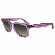 6f659a42af Ray-Ban Wayfarer Gafas de Sol 2140 605632 Icepop Fresa Violeta Gris  Degradado M