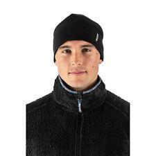 EDZ Merino Wool Thermal Beanie Hat Black