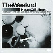 The Weeknd - House Of Balloons - NEW CD (sealed)   2015 Debut     weekend