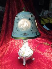 Sehr schöne,alte Lampe__Porzellanlampe__Tischlampe__Lindner__!