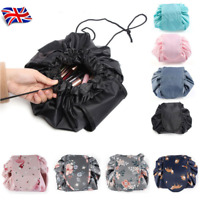 Women Make Up Storage Magic Travel Pouch Cosmetic Toiletry Pouch Wash Bags UK