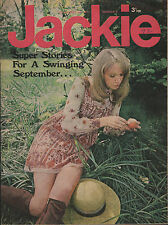 Jackie Magazine 4 September 1971 No.400   Mick Jagger   The Move   John Kongos