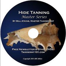Deer Hide Tanning DVD - Deer Skin Rug - Taxidermy DVD