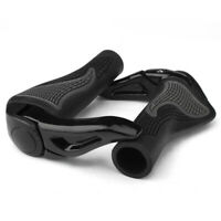 Bike Grips Rubber Mountain Bicycle MTB Handlebar Ergonomic Cycling Lock On