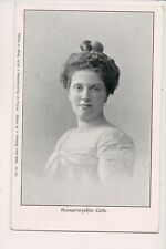 Vintage Postcard Archduchess Louise of Austria Crown Princess of Saxony