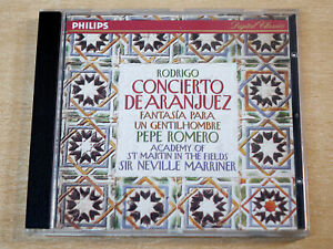 Rodrigo/Concierto De Aranjuez/1994 Philips CD Album/Sir Neville Marriner