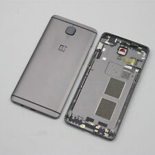 For Oneplus 3/3T Originl Metal Back Door Housing Battery Cover Replace+Button