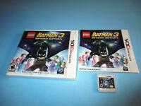LEGO Batman 3: Beyond Gotham (Nintendo 3DS) XL 2DS Game w/Case & Manual