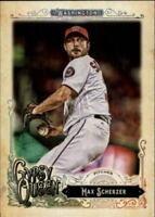 Max Scherzer 2017 Topps Gypsy Queen Baseball Card #289