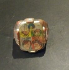 THE MONKEES FLICKER TOY PLASTIC RING 1960s TV SHOW ROCK BAND GROUP