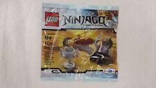 Lego Ninjago Brown Ninja DARETH vs Nindroid minifigure polybag set Toys R Us ex